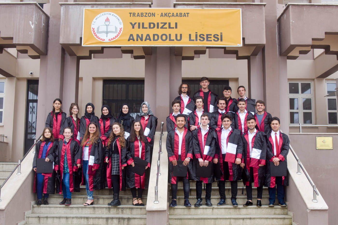 Yıldızlı Anadolu Lisesi, Mezuniyet, Trabzon, Stüdyo Girne