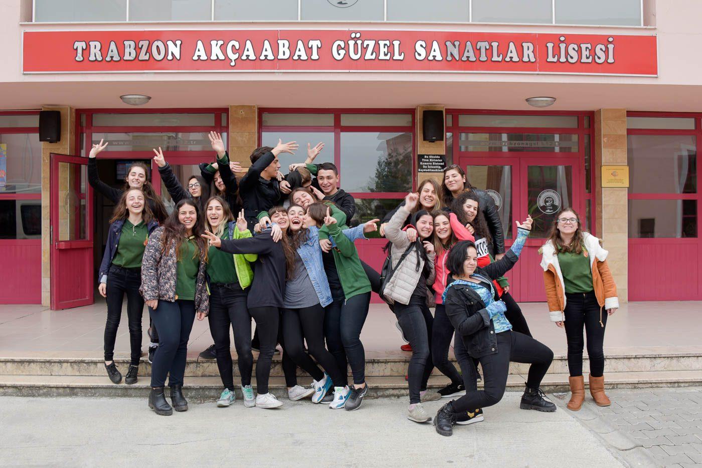 Trabzon Akçaabat Güzel Sanatlar Lisesi, mezuniyet, trabzon